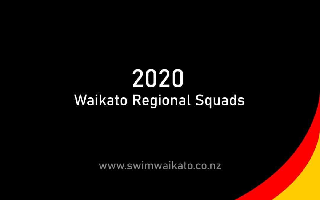 2020 Waikato Regional Squad